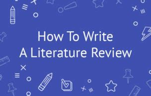 Write a synthesis literature review